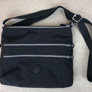 Kipling Black Crossbody Messenger Shoulder bag
